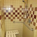 Hoolehua Fire Station Finish Work, ADA shower